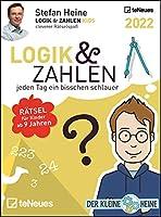 Stefan Heine Logik & Zahlen 2022 - Tagesabreisskalender - 11,8x15,9
