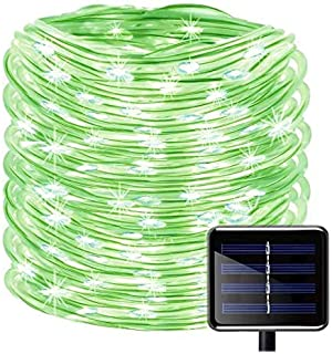 YXZQ Solar Rope Lights, 200 LEDs 72ft/22M Garden Solar Lights Waterproof Copper Wire Tube Garden Lights,Outdoor Rope Light...