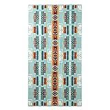 [ ペンドルトン ] Pendleton バスタオル アイコニック ジャガード XB218 53508 トゥーソンターコイズ Iconic Jacquard Towels-Bath Tucson Turquoise タオルケット ビーチ タオル プール おしゃれ 野外フェス [並行輸入品]