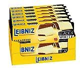 Leibniz Choco Black'n White 125 g, 12er Pack — Kakao-Keks mit weißer Schokolade — Schokokekse in der Faltschachtel — Kakaokekse mit extra Schokolade in der Vorrats-Box (12 x 125 g)