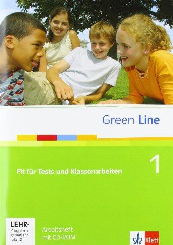 Green Line 1: Fit für Tests und Klassenarbeiten 1, Arbeitsheft und CD-ROM mit Lösungsheft Klasse 5 (Green Line. Bundesausgabe ab 2006)