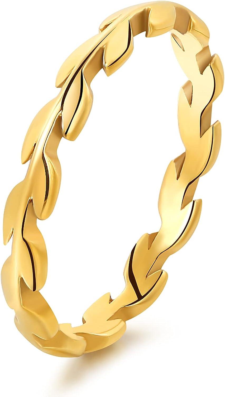 BOBOLOVER 14K Gold Filled 2MM Vine Knuckl Very popular Finger Thin shop Rings Slim