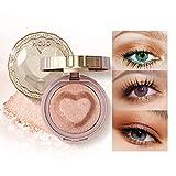 Mimore Sombra de ojos con brillo duradero Sombra de ojos pigmentada Acabado suave como la seda y brillo de color duradero Beauty Makeup Polvo de sombra de ojos mineral natural (03)