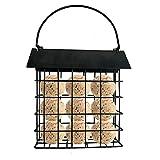 Roof Square Food Dispenser House Vogelhäuschen - 14 14 6,5 cm