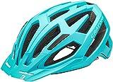 Cratoni Unisex - Casco de Bicicleta para Adultos C-Flash (MTB), Color Turquesa, Talla única