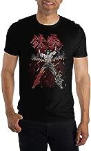Mens Jin Kazama Shirt Black Jin Kazama Tekken TShirt