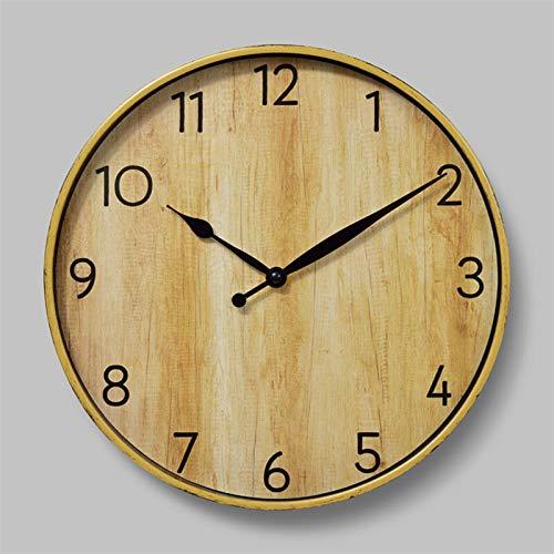Zfwlkj Wanduhr 12-Zoll-Wanduhr Minimalist Thick Border 3D Uhren Reloj de pared Wohnkultur Dekorationen for Jugendraum (Color : 005, Sheet Size : 12inch)