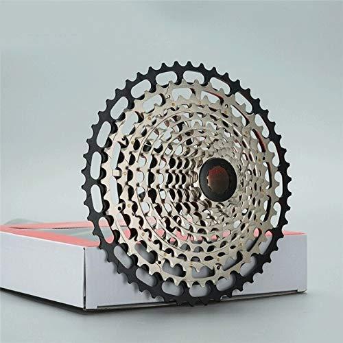 SRR Pedales de Bicicleta de montaña Ultraligera 12 11-50T Velocidad ULT Cassette Último CNC Mountain Bike 12s HG Hub Compatible 12v Durable Rueda Libre K7 Piñón del Cassette Velocidad