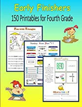 Early Finishers:  150 Printables for Fourth Grade