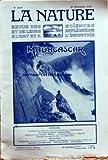 NATURE (LA) [No 2699] du 26/12/1925 - MODIFICATIONS DU LITTORAL DU CENTRE-OUEST DE LA FRANCE PAR WELSCH - LE FORCAGE DU MIMOSA PAR ROLET - MADAGASCAR ET SES RICHESSES PAR EFFERE - COLORIAGE MECANIQUE DES FILMS PAR MARESCHAL