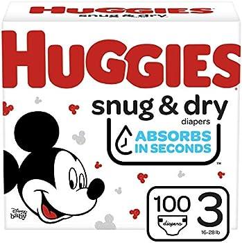 100-Count Huggies Snug & Dry Diapers