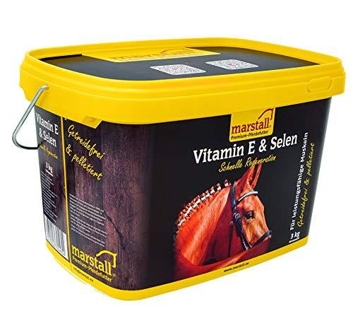 marstall Premium-Pferdefutter Vitamin E + Selen, 1er Pack (1 x 3 kilograms)