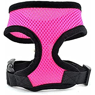 Customer reviews No Pull Small Dog - Pet Harness - Breathable Mesh - Range of Colours and Sizes