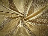 TheFabricFactory Brokat-Stoff Gold x Metallic Gold 111,8 cm