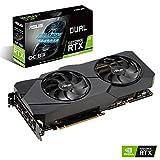 ASUS Dual GeForce RTX 2080 Super EVO OC Edition 8GB GDDR6 - Tarjeta gráfica (Ventiladores Axial-Tech, tecnología Auto-Extreme, GPU Tweak II)