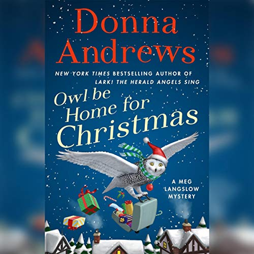 Owl Be Home for Christmas audiobook cover art