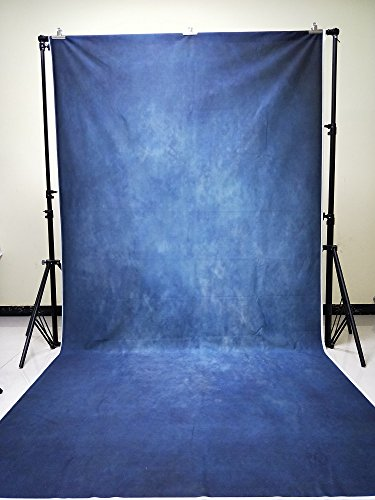 Konpon 150x 300cm azul Retro color sólido pared telón de fondo abstracto fotografía fondo plegable lavable algodón retrato foto fondos xt-4770