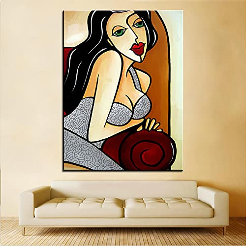 PYROJEWEL Large size Printing Painting eager to please Wall painting Steampunk Wall Art Picture for Living Room Decor painting 60x80cm Frameless steampunk buy now online