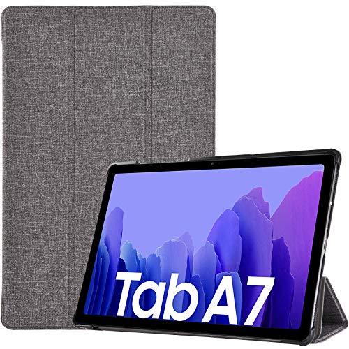 ProHülle Hülle für Galaxy Tab A7 10.4 Zoll 2020 (T500/ T505/ T507) Schutzhülle Smart Cover, Ultra Dünn Slim Licht Stand Klappen Schutzhülle –HellGrau