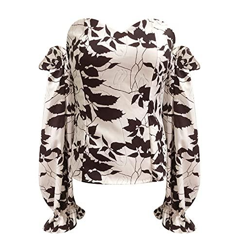 Sudaderas Anchas Mujer,Camisetas Mujer Baratas,Blusas Elegantes para Fiestas,Camiseta Hombros Descubiertos,Sudadera Sin Capucha Mujer,Jersey con Camisa Mujer,Camiseta Calavera Mujer,Tunica Mujer