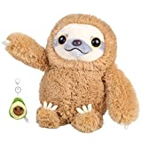 "Sloth Stuffed Animal Three Toed Sloth Plushie Fluffy Plush Toys Preschool Stuffed Animals for Girls Boys 15"""