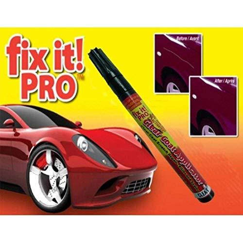 PUNZONE fix it ! PRO UV Sunlight Activated Clear Coat Scratch Repair Filler Car Scratch Remover Pen Scratch Remover Pen for Laptop Mobile TV Fridge Car and Motor Bike