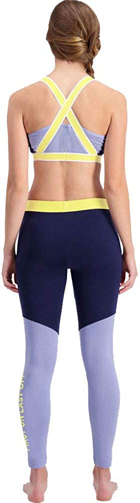 Mons Royale Christy Legging - Legging Christy. - Femme Bleu Marine/Blue Fog.