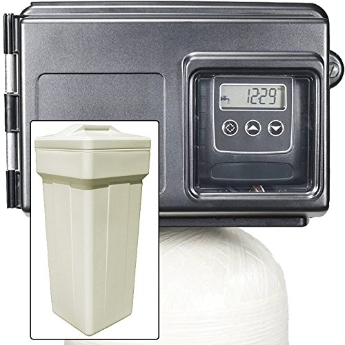 Iron Pro 32K Combination Water Softener & Iron Filter with Fleck 2510SXT Digital Metered Valve - Treat Whole House up to 32,000 Grains