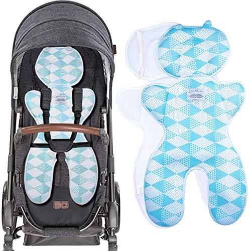 Yunhany Direct Baby-Universal-Kinderwagenauflage atmungsaktives Mesh-Innenfutter Buggy-Kleinkind-Autositzkissenbezug
