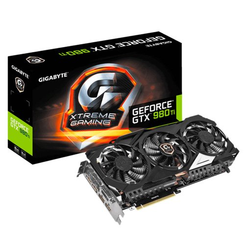 GIGABYTE GeForce GTX 980TI Xtreme Gaming 6GB GDDR5
