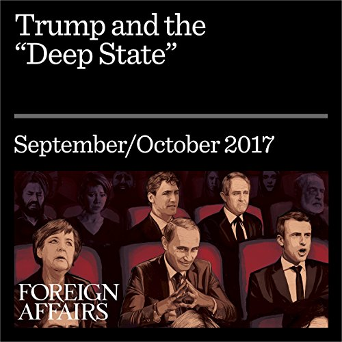 Trump and the 'Deep State' audiobook cover art
