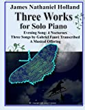 Three Works for Solo Piano: Even...