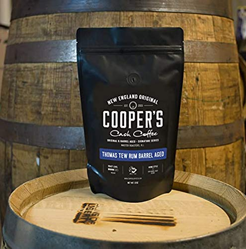 バレルエイジドコーヒー ウイスキー樽熟成 シングルオリジン 113g 豆のまま (ラム/ルワンダ産)