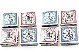 Kamaca - Juego de 8 toallas mágicas de mano con unicornio (30 x 30 cm, 100% algodón, 8 unidades), diseño de unicornio