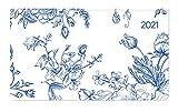 Alpha Edition - Agenda Settimanale Ladytimer Pad 2021, Formato Tascabile 15,6x9 cm, Fiori, 128 Pagine