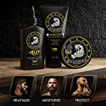 Bossman Essentials Beard Kit for Men - Beard Oil Jelly, Fortifying Conditioner Cream, Beard Balm - Grooming Growth Care… 7