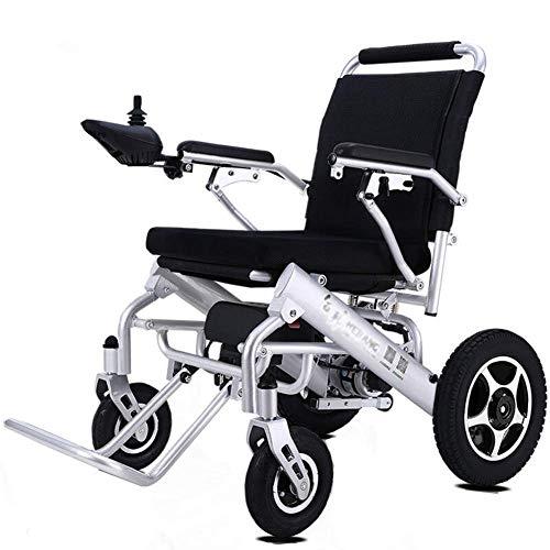 GJJSZ Carrozzina portatile,sedia a rotelle elettrica portatile leggera pieghevole Batteria al Litio disabilitata per anziani intelligente intelligente Scooter-Q3