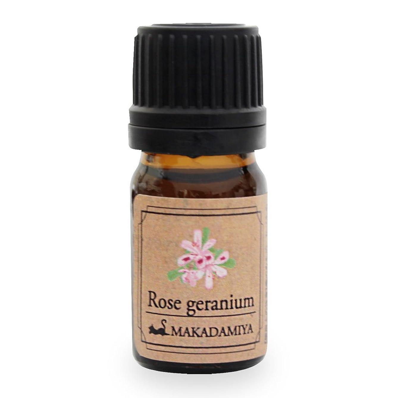 ローズゼラニウム5ml 天然100%植物性 エッセンシャルオイル(精油) アロマオイル アロママッサージ aroma Rose Geranium