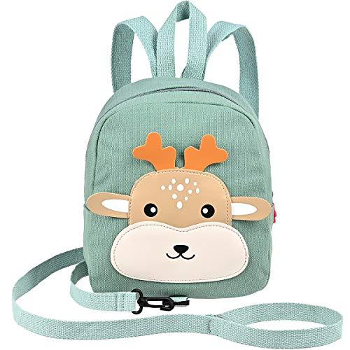 Nabance Mochila Infantil Bolsas de Animales Design Hombro preescolares de la guardería Anti Lost Mochila de Seguridad Niños Niñas (23 * 10 * 20cm)