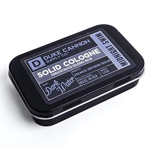 Duke Cannon Supply Co. Men's Solid Cologne, 1.5oz. - Midnight Swim (Dark Water Scent)