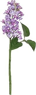 Silk Lilac Flowers in Purple - 16
