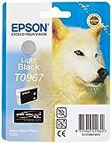 Image of Epson T0967 Ink Cartridge, Light Black, Genuine, Amazon Dash Replenishment Ready