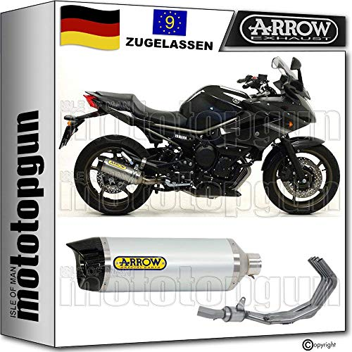 ARROW - Juego completo de aluminio con termostato CC compatible con Yamaha XJ6 DIVERSION 2009 2010 71761AK+71421MI