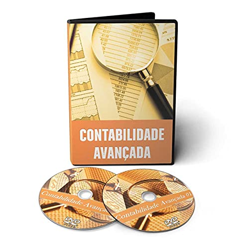 Curso de Contabilidade Avançada em 02 DVDs Videoaula