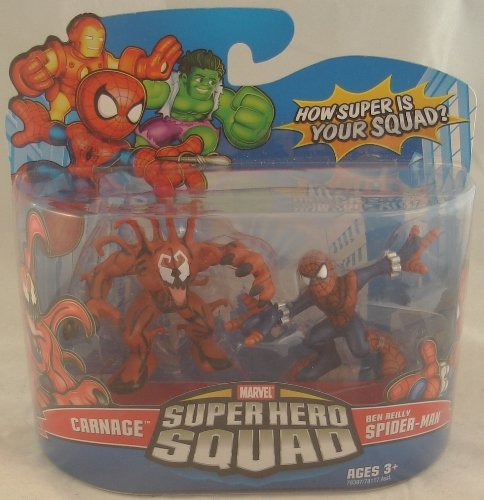 Marvel Super Hero Squad Action Figure 2-Pack - Carnage/Ben Reilly Spider-Man