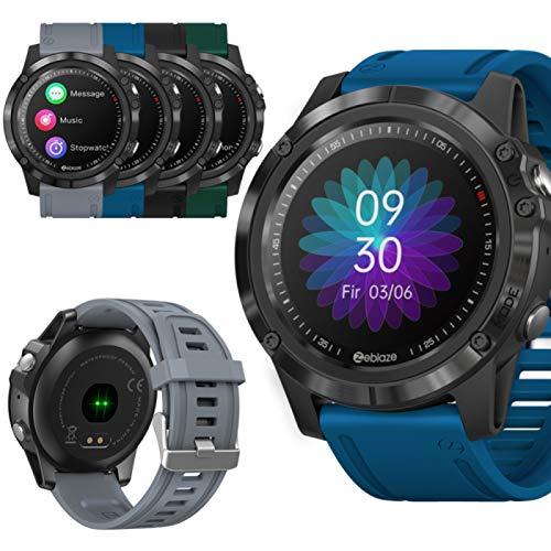 Akin Relojes inteligentes gama alta seguimiento fitness reloj smart para deportes salud con frecuencia cardíaca y monitor sueño reloj smart HD 1.3 pulgadas pantalla táctil a color HD reloj deportivo