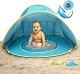 MULGORE Tent Play Tent Canopy Tent Baby Beach Tent Portable Lightweight Pop Up