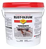 Rust-Oleum 253479 Concrete Saver TurboKrete Concrete Patching Compound, 2-Gallon, Light Gray