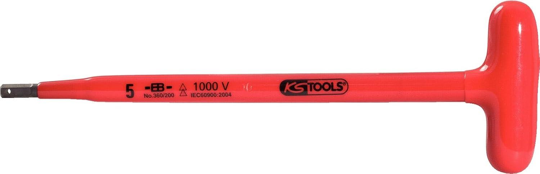 KS Tools 117.1679 Isolierter T-Griff-Stiftschlüssel, 5x200mm B007XU74Q8 | Qualität und Quantität garantiert