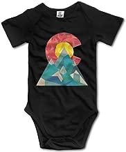 Colorado Geo Infant Baby Outfit Creeper Short Sleeves Onesies